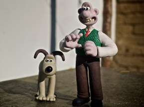 John with Wallace and Gromit 1